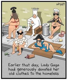 Funny Pictures About Lady Gaga Clothes Donation Oh And Cool Pics About Lady Gaga Clothes Donation Also Lady Gaga Clothes Donation Photos