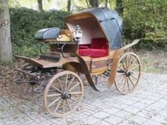 Barouche - Fancy Carriage Of The Early 1800s