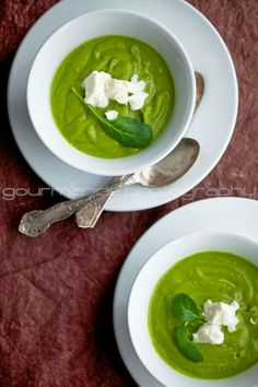 Creamy Broccoli and Spinach Soup - Plan Provision