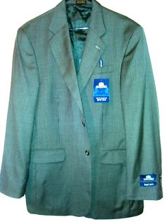 ,Suit Sale Blazer Cheap Men Sfafford Houndtooth Sportcoat 42L New With Tags, #staffod #TwoButton