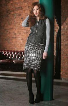 Granny squares .. crochet skirt                                                                                                                                                                                 More
