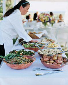 Wedding Reception Food The food display has a casual, picnic feel about it. Romantic Wedding Receptions, Wedding Reception Food, Wedding Menu, Rustic Wedding, Wedding Lunch, Wedding Foods, Wedding Candy, Wedding Ideas, Trendy Wedding