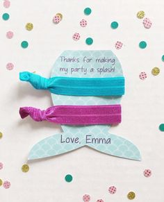 Mermaid Party Favors, Mermaid Birthday Party, Mermaid Party Supplies, Mermaid Party, Mermaid Party D Pool Party Favors, Mermaid Party Favors, Mermaid Invitations, Spa Party, Mermaid Baby Shower Decorations, Mermaid Baby Showers, 10th Birthday Parties, Birthday Favors, 7th Birthday
