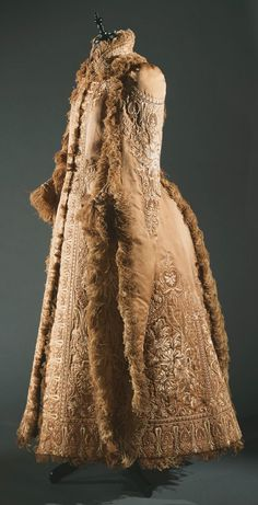 Coat | American | 1890 | embroidered silk, ostrich feathers | Philadelphia Museum of Art | Accession #: 1949-50-1