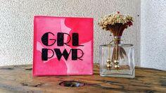 """""""Girl Power"""" - bordado"""