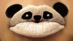 Animal Lipstick Art by Paige Thompson