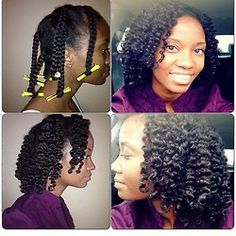 braid out with perm rods