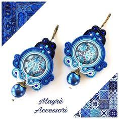 Orecchini realizzati a mano in Soutache Modello: Manuela Lunghezza: 7cm Larghezza: 4cm ✅ disponibili <25> #accessories #amalficoast #beauty #bijoux #bisuteria #серьги #orecchini #etsy #fashionista #fashion #fattoamano #handmade #handcrafted #handmadejewelry #italy #instacute #instacool #jewels #madeinitaly #moda #makeup #orecchini #outfit #earrings #picoftheday #solocosebelle #soutache #soutacheearrings #style #joyeria