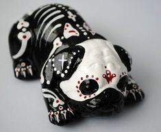 sugar skull pug - Google Search