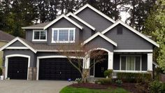Gray exterior paint colors are classic colors that work with any exterior color scheme.