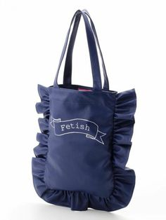 Frill Pillow Tote Bag - lillilly フリルバッグ