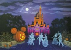 Halloween At Disney's Magic Kingdom By Larry Dotson
