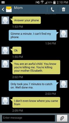 The Way This Daughter Terrorizes Her Mother Over Text Is Cruel... But So Very Funny