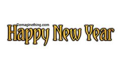 New Year Anime, Happy New Year Png, New Year Words, New Year Clipart, Picsart Png, Png Format, Word Art, Clip Art, Stickers