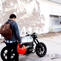 BMW caferacer by Oil & Blood