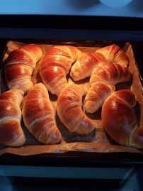 Hot Dog Buns, Hot Dogs, Croissant, Cheesecakes, Food And Drink, Cooking Recipes, Sweets, Bread, Desserts