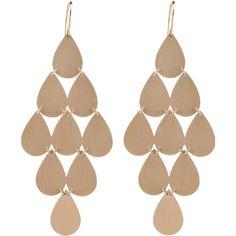 Irene Neuwirth Jewelry Nine-drop Chandelier Earrings found on Polyvore
