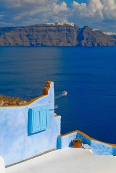 Infinite Blue of Oia village, Santorini