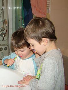 Fogmanók, avagy hogyan szerettettem meg a gyerekeimmel a fogmosást