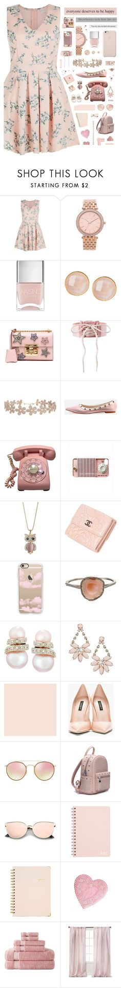 """""""1007"""" by glitterals ❤ liked on Polyvore featuring New Look, Michael Kors, Nails Inc., Saachi, Gucci, Puma, Humble Chic, Retrò, Wallis and Chanel"""