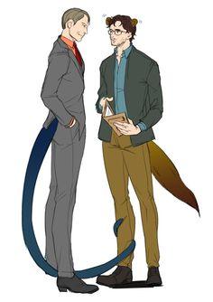 The snake and the mongoose Hannibal Lecter, Hannibal Tv Series, Yuri, Beverly Katz, Francis Dolarhyde, Bryan Fuller, The Last Ship, Good Omens Book, Will Graham