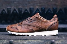 "Reebok Classic Leather ""Brogue Pack"""