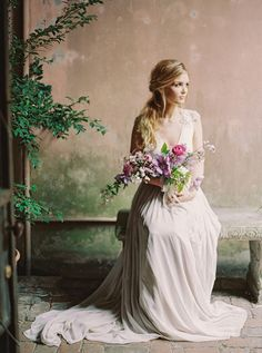 10 Artistic Fine Art Bridal Portraits inspired by Still Life Paintings | NBarret Photography