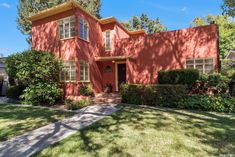 For sale: $849,900. Unique 1930's Art Deco style home on tree-lined street steps from Land Park. Stunning Michael Glassman-designed yard & pool. Spacious patio area w/built-in BBQ & pizza oven for fabulous outdoor entertaining. Loads of glass doors & windows to allow maximum light & views of spectacular yard. 3 full updated baths. Updated kitchen w/new appliances including 6-burner Bertazzoni gas range & hood. Refinished hardwood floors, glass blocks, custom light fixtures & fans thru-out…