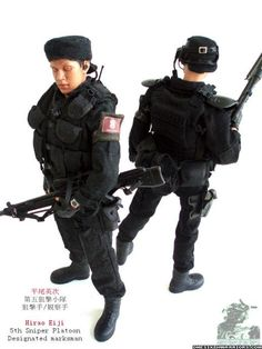 come on kerberos jin roh fans, post your collection! - OSW: One Sixth Warrior Forum Jin Roh, Fans, Art Pics, Action Figures, Military, Collection, Military Man, Army