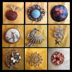 Brooches https://www.facebook.com/pages/The-Jewellery-Cloud/160517894095561