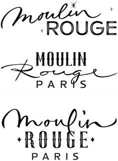 Moulin Rouge font