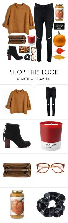 """i miss autumn"" by liv-on-polyvore ❤ liked on Polyvore featuring Boohoo, CASSETTE, Pantone, Burberry, Wood Wood, Williams-Sonoma, Accessorize and country"