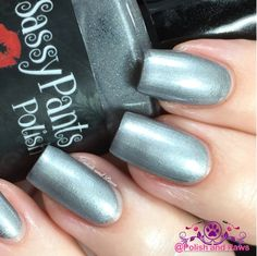 "Polish and Paws: ""Tin Man"" by Sassy Pants Polish The Wizard of Oz Collection ~ Holiday 2015"
