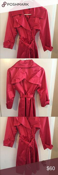 Bebe Trench Coat DREAMY Bebe Trench Coat! Perfect weight and color for spring! 3/4 sleeves and light weight. This is a show stopper! Appx mid thigh in length, size Medium in Royal Blue bebe Jackets & Coats Trench Coats