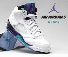 Air Jordan V White Grape. I have these, love them!