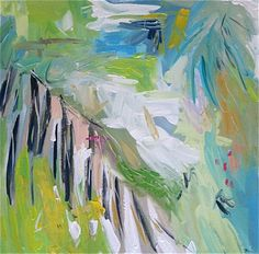 "'Palm Beach' by Maren Devine | $250 | 24""W x 24""H x 0.75""D | Original Art | http://vng.io/l/6twIDvk09i @VangoArt"