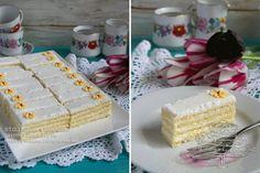 Citromos szelet Cake Bars, Vanilla Cake, Deserts, Food And Drink, Yummy Food, Yummy Recipes, Bread, Cookies, Sweet Dreams