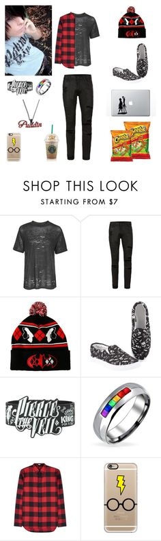 """one of those days - Daniel"" by killjoy-717 ❤ liked on Polyvore featuring Topshop, Topman, Bling Jewelry, Dior Homme, Casetify, men's fashion and menswear"