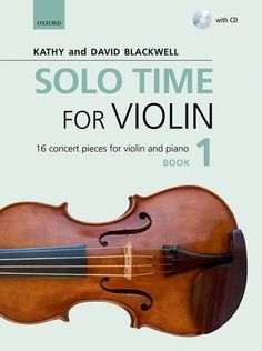 Solo Time for Violin is a three-volume series of concert pieces for the intermediate to more advanced violinist. Featuring arrangements and original pieces by the authors of the award-winning Fiddle Time series, these graded collections provide sophisticated repertoire from the Baroque to the modern age and introduce styles and techniques for the developing performer.