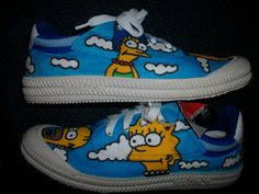 simpsons side view