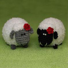 Häkeln kleine Schafe häkeln herdy Schaf häkeln Lamm von eastfolk