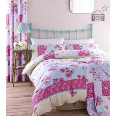 Double Bed Cotton Rich Duvet Cover Set