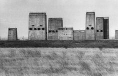 Rene Burri 1980Jack Ass Flat, Nevada. Aeration towers for underground blockhouse…