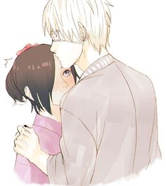 "Kaneki and Touka // screw the ""i don't ship it but""-people"