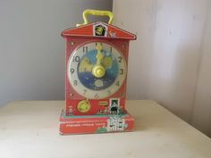 This is a Fisher Price Toy Wind Up Teaching ..had to throw this one in!!