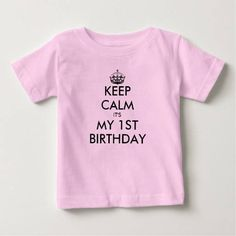 (Keep calm 1st Birthday shirt for one year old baby) #1St#Babys1StBirthday#BabysFirstBirthday#Birthday#Boy#Children#Cute#First#Girl#KeepCalm#Keepcalm#Kids#Little#Name#One#OneYearOld#OneYearOldBirthday#Party is available on Funny T-shirts Clothing Store   http://ift.tt/2aTtA70