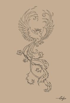 "the phoenix, actually spelled ""phenix"" in middle english, is a greek mythological creature that represents rebirth. it is reborn from its ashes when it dies."