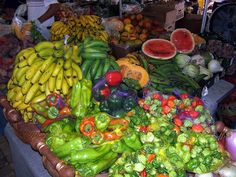 Puerto Rico fruit market. #Caribbean