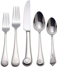 Sea Shell 18/10 Stainless Flatware