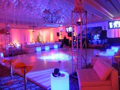Fire & Ice Theme Event at East Norwich, NY » Great Neck Games & Productions – New York Event Specialists | Entertainment Services, Furniture...